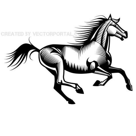 clipart cavalli running vector clip eps vector image 365psd