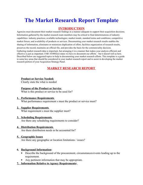 Intelligence Report Writing Template Market Intelligence Report Template Gallery Template