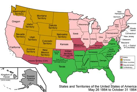 map united states with states 073 states and territories of the united states of america