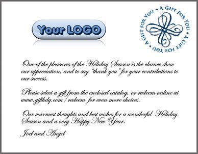 employee appreciation gift letter employee recognition gift catalog packets customizing
