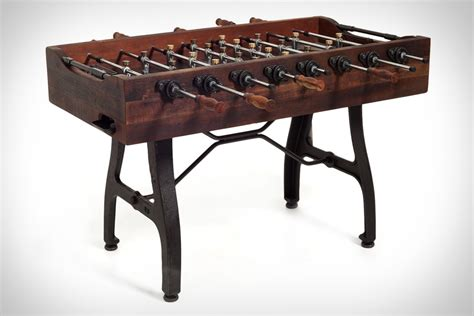 How To Make A Foosball Table by Post Foosball Table Uncrate