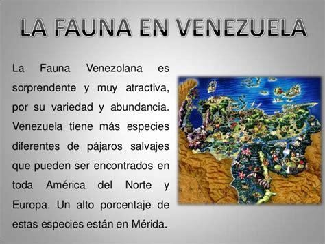imagenes de venezuela flora y fauna la fauna y la flora diapositivas