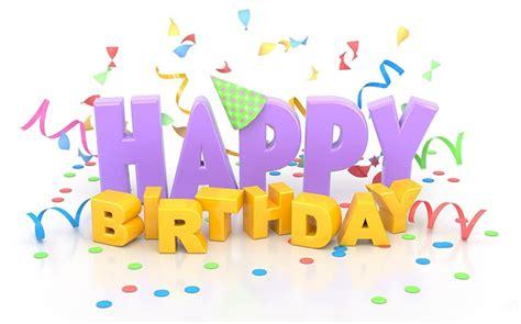 birthday email stationery stationary happy birthday 3d text