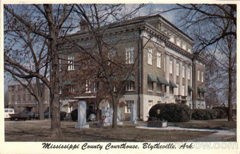 Blytheville Post Office by Mississippi County Courthouse Blytheville Ar