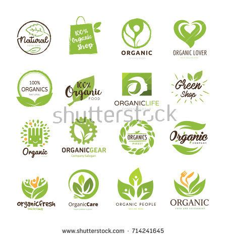 Animal Element Detox Coupon by Royalty Free Vector Set Of Green And Organic 370624931