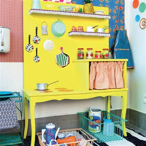 cuisine pour enfant fabriquer une cuisine pour les enfants