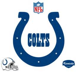 Dallas Cowboys Chairs Indianapolis Colts Logo Fathead Nfl Wall Graphic