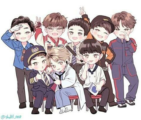 exo unfair wallpaper exo unfair exo fanart pinterest fanart and exo