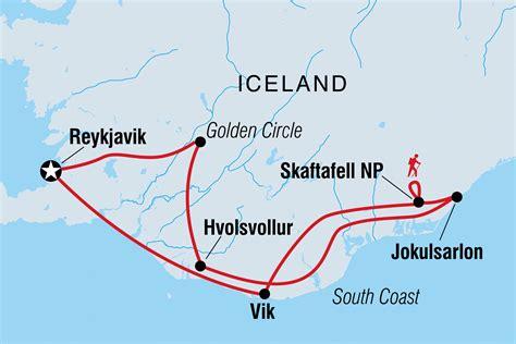 northern lights iceland map iceland tours travel intrepid travel us