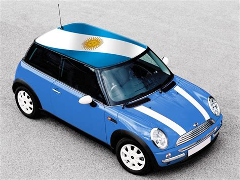 argentina colors argentina flag flags on mini cooper roof