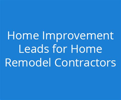 remodel contrator websites marketing for home