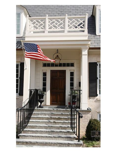 Front Door Railing 78 Images About Chippendale On Front Porches Saarinen Table And Porches