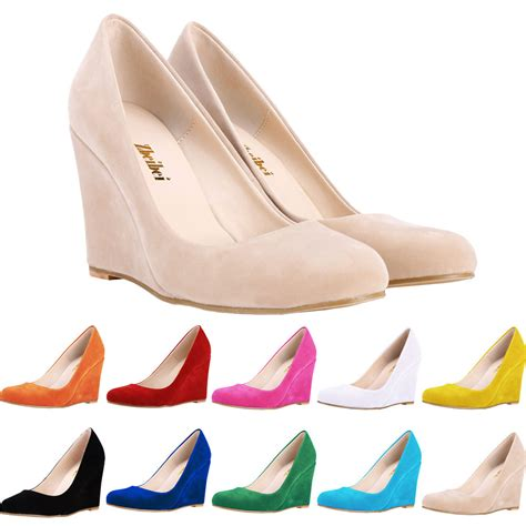 size 4 pumps high heels womens low mid high heels platforms wedges pumps