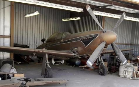 Big Barn World Sign In Hangar Find 1944 P 51 Mustang Amp More