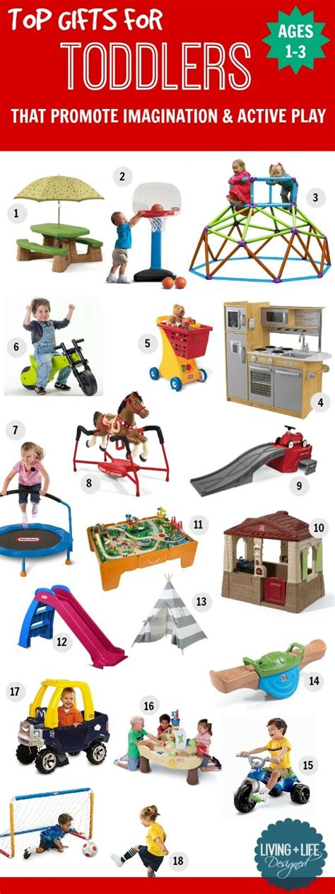 Best Gifts For Toddlers - gifts for toddlers 1 3 years that promote imagination