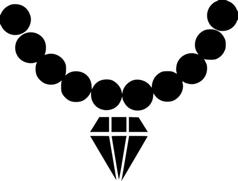 party wear necklace jewel diamond pearl jewellery svg png