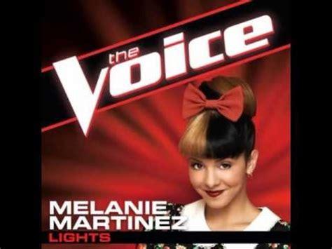 Melanie Martinez Lights by Melanie Martinez Quot Lights Quot The Voice Studio Version