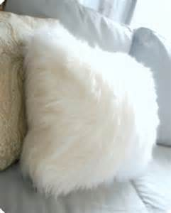 fuzzy pillows from a surprising source centsational