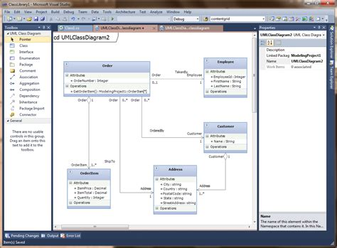 visual studio uml class diagram announcing vs2010 productivity power tools and modeling