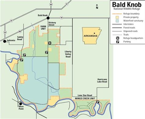 Bald Knob Wildlife Refuge bald knob national wildlife refuge maplets