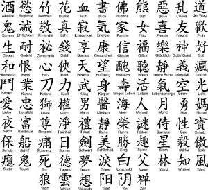 Porzellan Aufkleber Buchstaben by Wandtattoo Chinesische Zeichen Wandtattoos Wandbilder