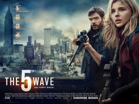 poster de the fifth wave la quinta ola review the 5th wave the eye