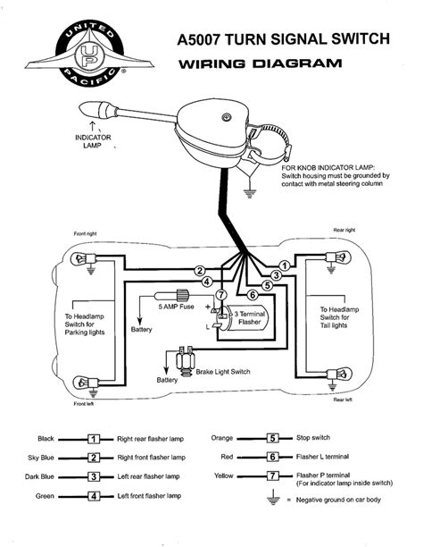 golf cart turn signal switch wiring diagram wiring