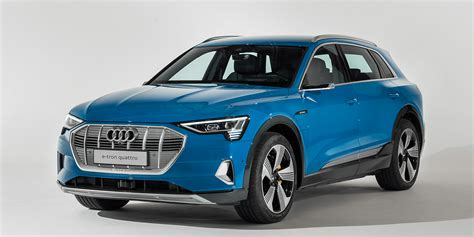 audi presents their first electric car e tron in