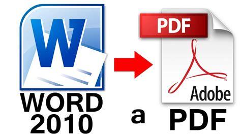 convertir pdf con imagenes a word como convertir de word 2010 a pdf sin programas youtube