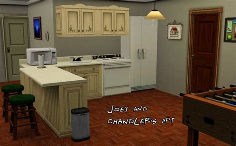 Joey S Apartment Number Mod The Sims F R I E N D S Project The Apartments