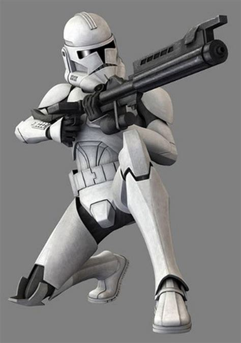Blender Cosmos Blaze clone troopers were an army of identical genetically