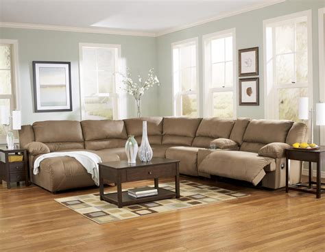 hausbau ideen 6 motion sectional with left chaise and console by
