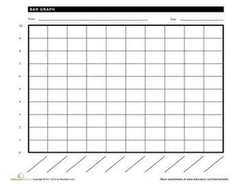 blank bar graph template blank bar graph