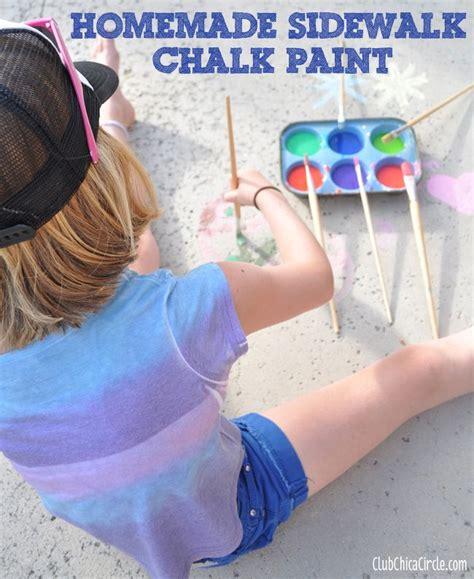 diy sidewalk chalk paint recipe best 25 sidewalk chalk ideas only on