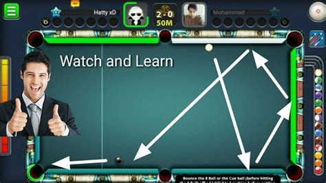 How To Do Giveaways - how to do trickshot watch and learn giveaway winner 3 13 8 ball pool tell me