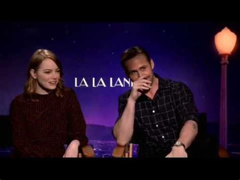 emma stone ryan gosling interview la la land 2016 movie official tv spot critics rave