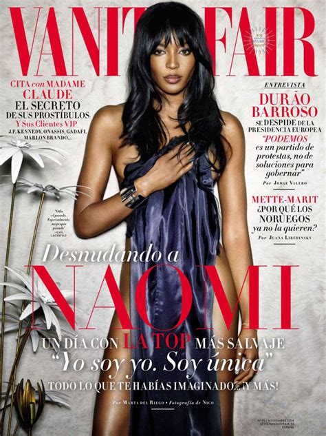 Vanity Fair November Issue by Cbell Is All Skin Legs On The Cover Of Vanity
