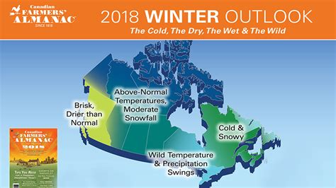 the almanac a seasonal guide to 2018 books canada winter weather forecast farmers almanac 2017