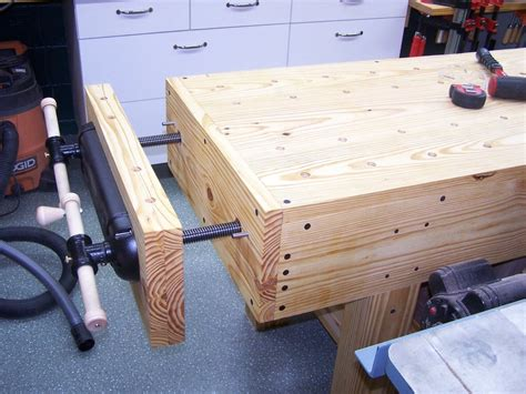 bench end vise english style workbench with end vise by pittsburghtim
