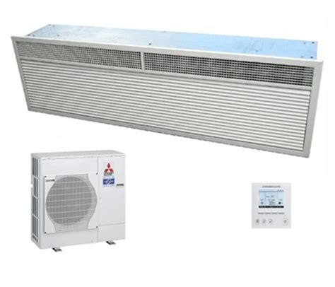 mitsubishi electric air curtains mitsubishi electric heat pump air curtain hp2000r dxe 15