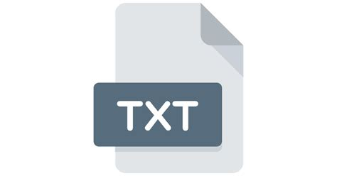 Txt - Free files and folders icons .txt
