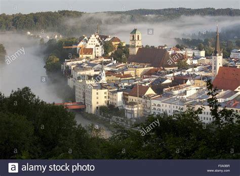 rosenheim inn wasserburg am inn in rosenheim bavaria germany stock