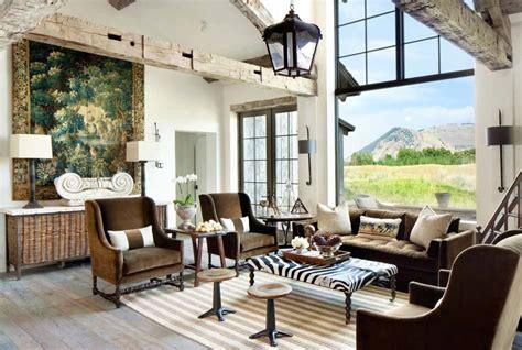 Délicieux Decoration Salon Rustique Moderne #1: elements-rustique-decoration-chalet.jpg