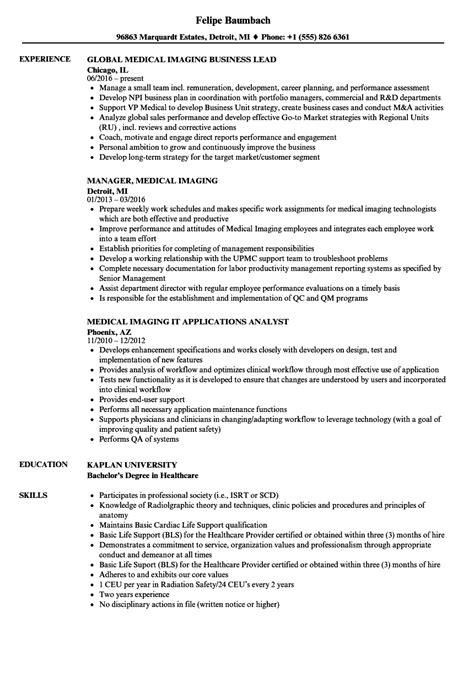 Imaging Repair Sle Resume by Imaging Repair Sle Resume Us Resume Sles