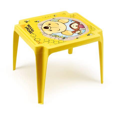 tavolo e sedie per bambini disney baby disney tavolino per bambini in plastica insedia