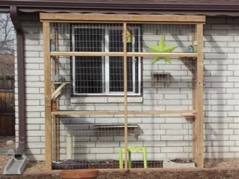 cat enclosures diy diy catio plan the catio plans with 3x6 and 4x8
