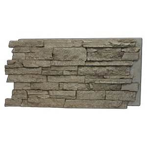 faux rocks home depot superior building supplies beige 24 3 4 in x 48 3