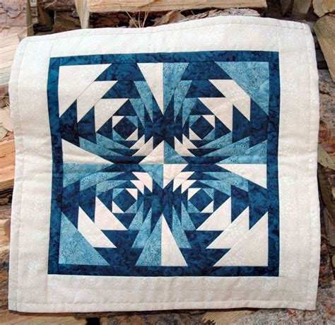 Pineapple Patchwork - log cabin quilts photo gallery and layout tips