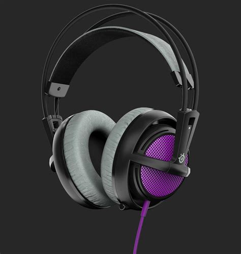 Headset Steelseries Siberia 200 steelseries siberia 200 gaming headset purple