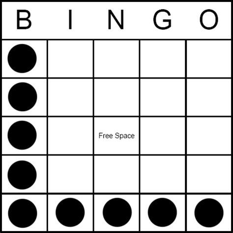 pattern bingo games bingo game pattern letter l